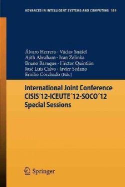 International Joint Conference Cisis'12-iceute '12-soco '12 Special Sessions (Paperback)