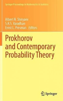 Prokhorov and Contemporary Probability Theory: In Honor of Yuri V. Prokhorov (Hardcover)