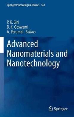 Advanced Nanomaterials and Nanotechnology: Proceedings of the 2nd International Conference on Advanced Nanomateri... (Hardcover)
