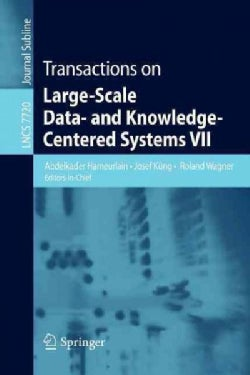 Transactions on Large-Scale Data- and Knowledge-Centered Systems VII (Paperback)