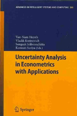 Uncertainty Analysis in Econometrics With Applications (Paperback)