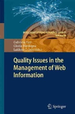 Quality Issues in the Management of Web Information (Hardcover)