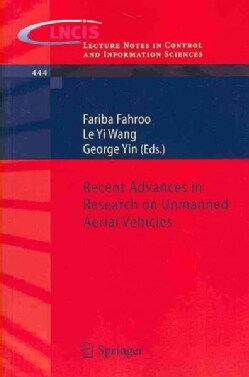 Recent Advances in Research on Unmanned Aerial Vehicles (Paperback)