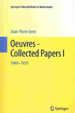 Oeuvres - Collected Papers I: 1949-1959 (Paperback)
