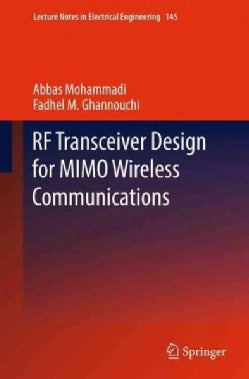 Rf Transceiver Design for Mimo Wireless Communications (Paperback)