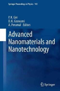 Advanced Nanomaterials and Nanotechnology: Proceedings of the 2nd International Conference on Advanced Nanomateri... (Paperback)