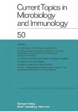 Current Topics in Microbiology and Immunology: Ergebnisse Der Mikrobiologie Und Immunitatsforschung (Paperback)