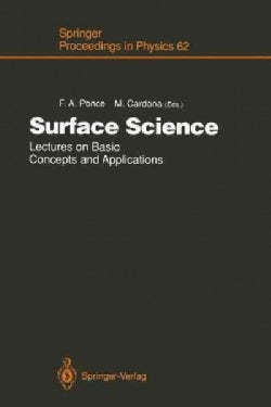 Surface Science: Lectures on Basic Concepts and Applications (Paperback)