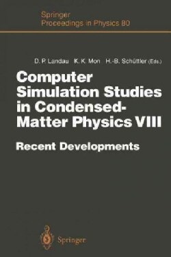 Computer Simulation Studies in Condensed-matter Physics VIII: Recent Developments Proceedings of the Eighth Works... (Paperback)