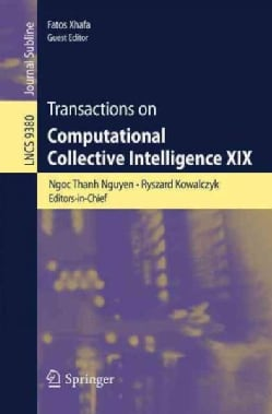 Transactions on Computational Collective Intelligence XIX (Paperback)