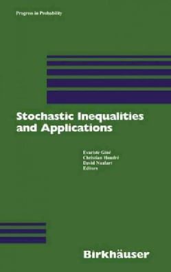 Stochastic Inequalities and Applications (Hardcover)