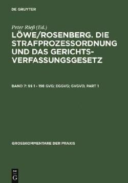 §§ 1 - 198 Gvg; Eggvg; Gvgvo (Hardcover)