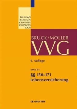 Vvg: §§ 150-171 Lebensversicherung (Hardcover)