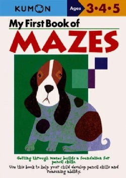 My First Book Of Mazes (Paperback)