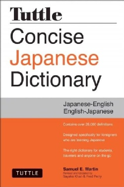 Tuttle Concise Japanese Dictionary: Japanese-English English-Japanese (Paperback)