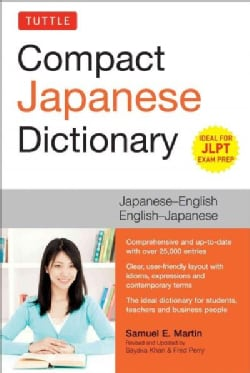Tuttle Compact Japanese Dictionary: Japanese-English, English-Japanese (Paperback)