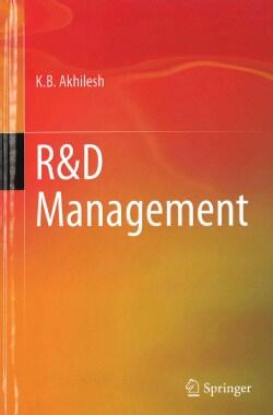 R&d Management (Hardcover)