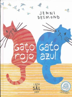 Gato rojo, gato azul / Red Cat, Blue Cat (Hardcover)