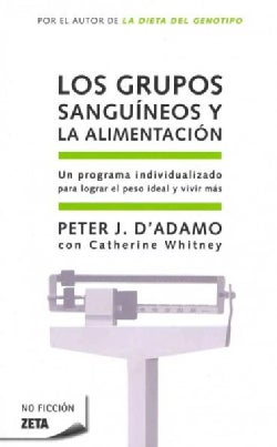 Los grupos sanguineos y la alimentacion / Eat Right for Your Type (Paperback)