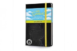 The Simpsons Notebook: Plain, Black (Notebook / blank book)