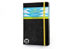 The Simpsons Notebook: Large, Plain, Yellow