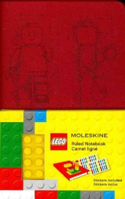 Moleskine Lego Limited Edition Notebook II, Pocket, Ruled, Scarlet Red (3.5 X 5.5) (Notebook / blank book)