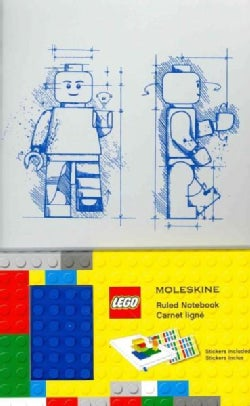 Moleskine Lego Limited Edition Notebook II, Large, Ruled, White (5 X 8.25) (Notebook / blank book)