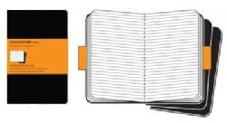 Moleskine Ruled Cahier Black Journal Large (Notebook / blank book)