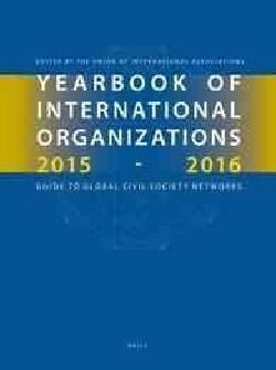 Yearbook of International Organizations 2015-2016 (Hardcover)