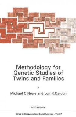 Methodology for Genetic Studies of Twins and Families (Paperback)