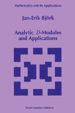 Analytic D-modules and Applications (Paperback)