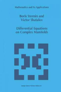 Differential Equations on Complex Manifolds (Paperback)