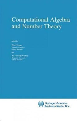 Computational Algebra and Number Theory (Paperback)