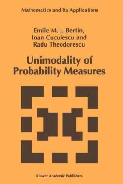Unimodality of Probability Measures (Paperback)