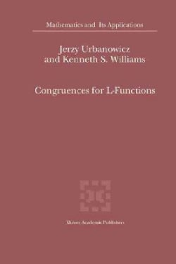 Congruences for L-functions (Paperback)