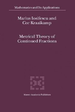 Metrical Theory of Continued Fractions (Paperback)