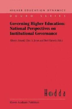 Governing Higher Education: National Perspectives on Institutional Governance (Paperback)