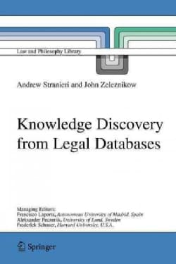 Knowledge Discovery from Legal Databases (Paperback)