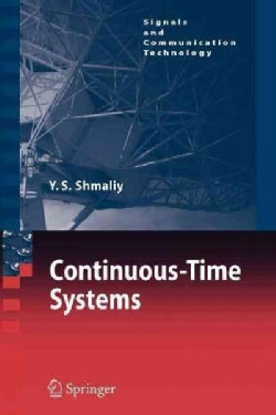 Continuous-time Systems (Paperback)