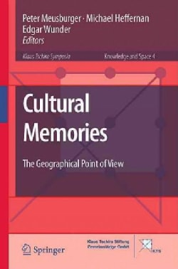 Cultural Memories: The Geographical Point of View (Hardcover)