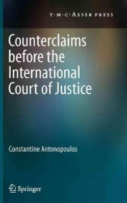 Counterclaims Before the International Court of Justice (Hardcover)