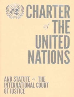 Charter of the United Nations and Statute of the International Court of Justice, Orange (Paperback)