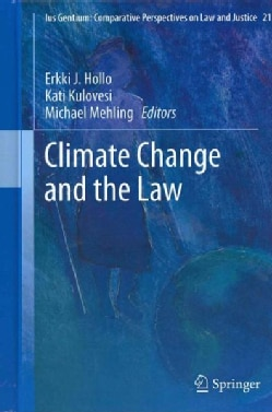 Climate Change and the Law (Hardcover)