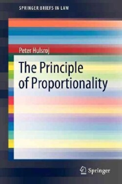 The Principle of Proportionality (Paperback)
