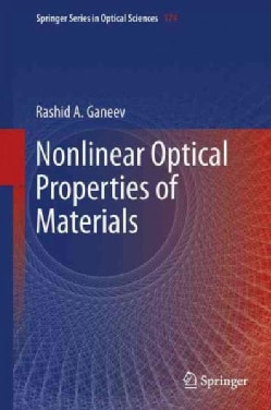 Nonlinear Optical Properties of Materials (Hardcover)
