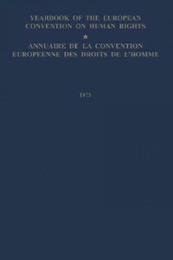 Yearbook of the European Convention on Human Rights / Annuaire De La Convention Europeenne Des Droits De Lhomme (Paperback)