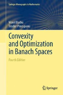 Convexity and Optimization in Banach Spaces (Paperback)