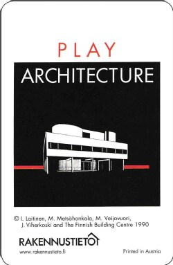 Play Architecture Playing Cards (Cards)