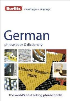 Berlitz German Phrase Book & Dictionary (Paperback)