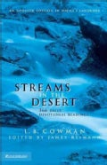 Streams in the Desert: 366 Daily Devotional Readings (Hardcover)